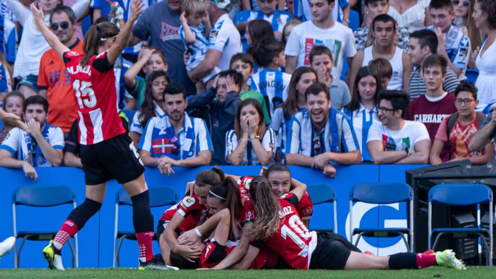 jugadoras athletic gol reale arena